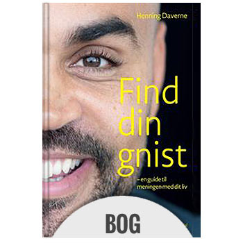 Find din gnist, meditations bog på Henning Daverne