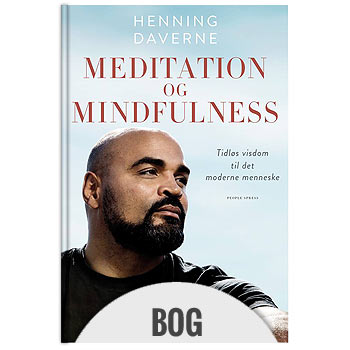 Meditation og Mindfulness meditations bog på Henning Daverne