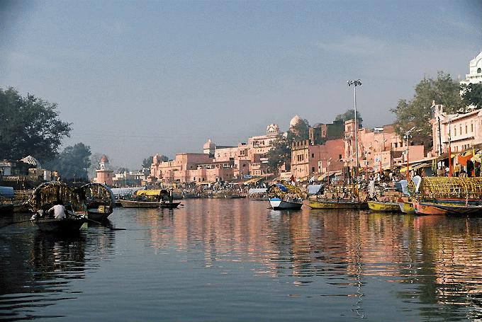 Indvielsestur til Indien på 3. del af instruktøruddannelse